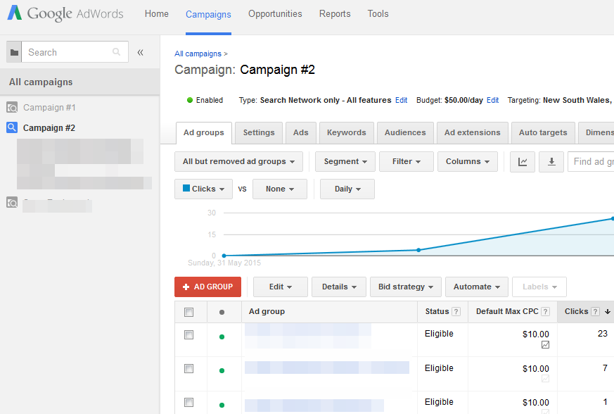 Google AdWords fast effective Cost per Click Advertising