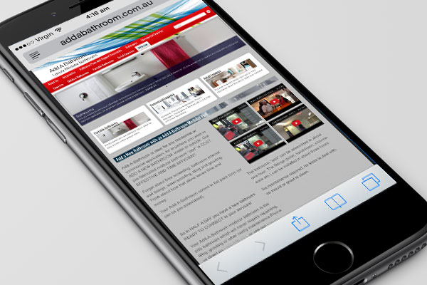 All our sites are mobile friendly and responsive