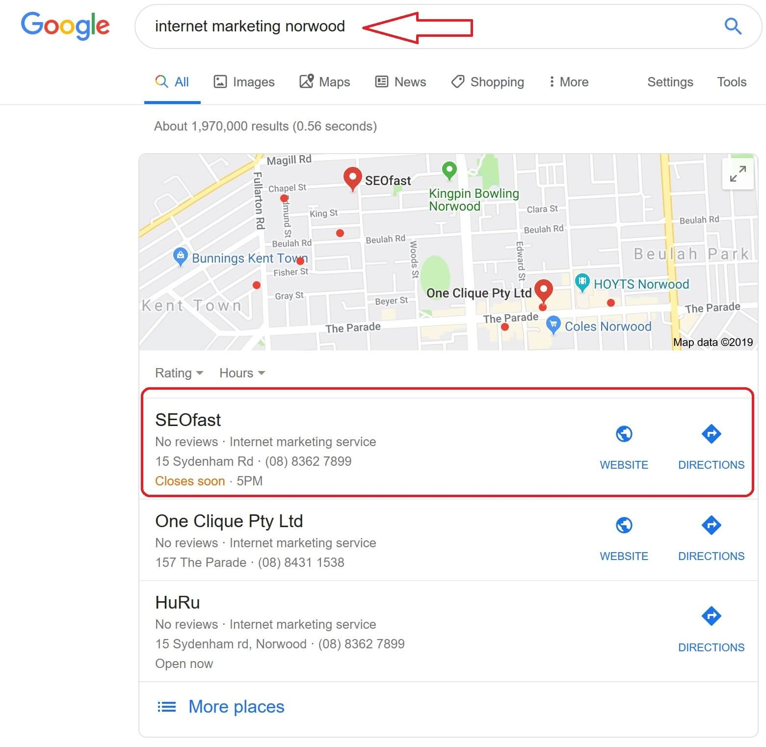 GET YOUR BUSINESS NOTICED WITH GOOGLE MAPS | Websites which rank fast