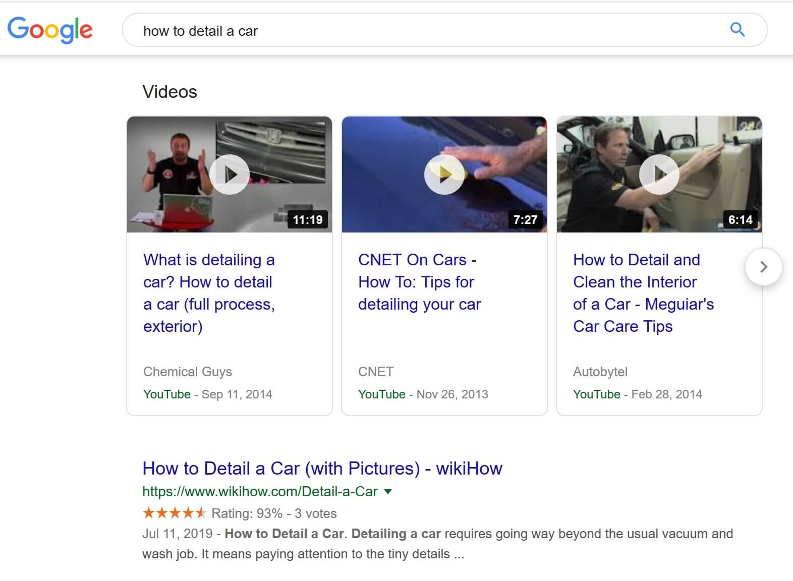 Rank in Google with YouTube videos